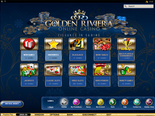 Golden Riviera Flash Casino