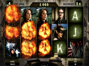 The Dark Knight Rises Free Spins Bane Mode