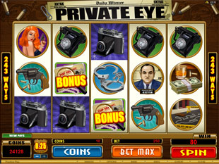 Private Eye Slot Machine