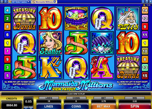 Mermaid's Millions Slot Machine