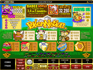 Pollen Nation Slots Payout