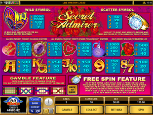 Check Out the Secret Admirer Slots with No Download