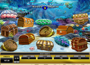 Mermaid's Millions Bonus Game