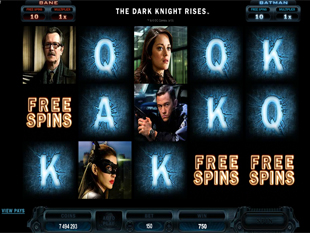 The Dark Knight Rises Bonus Game