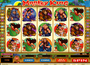 Monkey King Slot Game