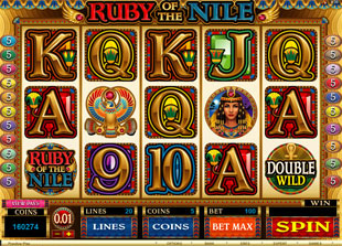 Ruby of the Nile Online Slot