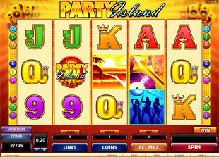 Party Island Online Slot