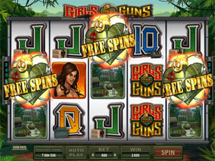 Girls with Guns - Jungle Heat Free Spins
