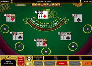 Mulihand-Spanish 21 Blackjack