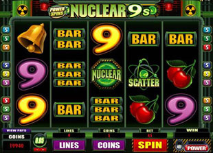 Nuclear 9's Slot Machine