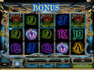 Jekyll and Hyde Bonus Game