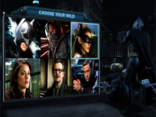 The Dark Knight Rises Free Spins Batman Mode
